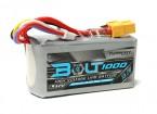 Perno Turnigy 1000mAh 15.2V 4S 65 ~ 130C alto voltaje Lipo Pack (LiHV)