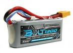Perno Turnigy 1300mAh 3S 11.4V 65 ~ 130C alto voltaje Lipo Pack (LiHV)