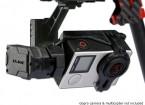 Tarot GOPRO T4-3D 3 ejes sin escobillas cámara del cardán