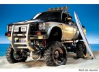 Tamiya 1/10 escala del carro Toyota Hilux alta elevación Kit w / 3-velocidad y tabla hawaiana 58397