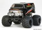 "Tamiya 1/12 de la escala Lunchbox ""Negro Edition"" Monster Truck Kit 58546"