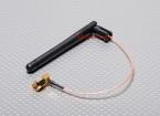 Antena w / alambre extendido