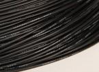 Turnigy Pure-silicona de alambre de 18 AWG (1m) (Negro)