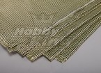 3K fibra de carbono y Kevlar-29 Cloth (180g / m2) 2 hojas - 1000 mm x 500 mm