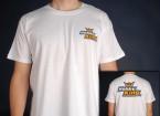 Manía Rey camiseta blanca (X-Large)
