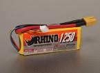 Rhino 1250mAh 3S1P 20C Lipo Pack de