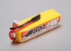 Rhino 4900mAh 6S 22.2V Lipo 25C Paquete