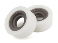 "DC Chequered Flag 1:10 Special-Purpose 1.9"" Type A Soft Tire Inserts (2pcs)"