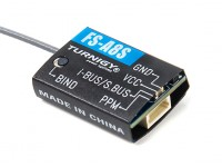 FS-A8S 2.4Ghz 8CH Mini Receiver with PPM i-BUS SBUS Output