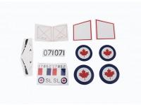 Durafly™ D.H.100 Vampire RCAF - Sticker Set