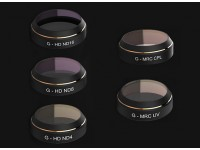 PGY-TECH Lens Filter Set for DJI Mavic (5pcs)