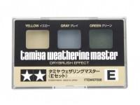 Tamiya Weathering Master E Set - Yellow, Gray, Green