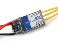 HobbyKing YEP 80A (2 ~ 6S) regulador de la velocidad sin escobillas SBEC