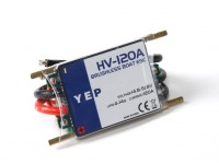 Hobbyking YEP 120A HV (4 ~ 14S) regulador de la velocidad sin escobillas Marina (Opto)