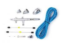 Pro Series Alimentación por gravedad kit del aerógrafo de doble acción con disparador