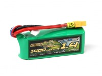 MultiStar Serie Racer 1400mAh 3S 65C Multi-Rotor Lipo Pack (con indicador LED)