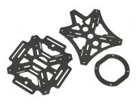 Chasis de fibra de carbono cubiertas