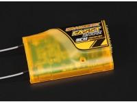 El receptor de 2,4 GHz compatible 8Ch OrangeRx Futaba FASST