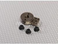 De aluminio color titanio Heavy Duty Servo Saver