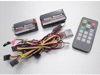 HobbyKing sistema OSD (combo completo): placa principal, el módulo de alimentación, USB / GPS Módulos / IR / TEMP w / remoto