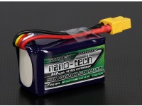 Turnigy nano-tech 850mah 4S 45 ~ 90C Lipo Pack de
