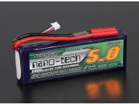 Turnigy nano-tech 5000mah 3S Lipo 65 ~ 130C Paquete