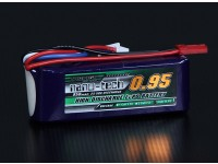Turnigy nano-tech 950mAh 3S 25 ~ 50C Lipo Pack de