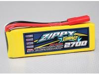 ZIPPY Compacto 2700mAh 3S Lipo 25C Paquete