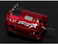 Turnigy TrackStar 5.5T Sensored 6075KV motor sin escobillas (ROAR aprobado)