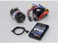 HobbyKing X-coche sin escobillas de alimentación del sistema 3000KV / 45A