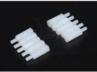 5,6 mm x 21 mm M3 de nylon roscado espaciador (10pc)
