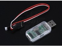Adaptador USB Programa Sistema Flybarless Hobbyking ZYX 3 ejes