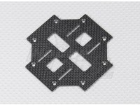 Turnigy Talon V2 fibra de carbono principal de la placa inferior (1 unidad)