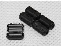 Clip en los anillos de ferrita blanda (5 piezas)