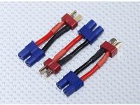 T-Conector de adaptador de batería EC3 (3pcs / bolsa)