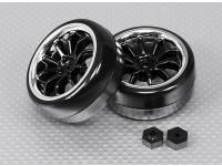 1/16 4WD sin escobillas Mini Rally - Extreme Edition Drift Juego de ruedas