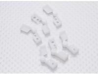 HobbyKing Bixler 2 / Bix3 - Solapa reemplazo Bisagras (6pcs / bag)