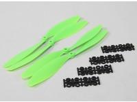10x4.5 SF Puntales 2pc 2pc CW CCW (verde)