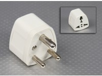 British Standards BS sockets 546 Multi-Standard adaptador