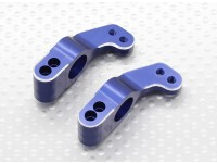 Aluninum Rear Hub Carrier - 1/10 Quanum Vandal 4WD Buggy Racing (2 unidades)
