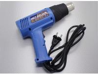 Salida doble de energía Pistola de calor 750W / 1500W (230V / 50Hz versión)