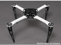 Resbalón de aterrizaje extendido Conjunto de marco SK450 Quadcopter