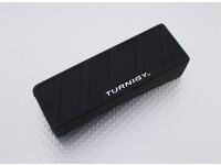 Turnigy de silicona protector de la batería de Lipo (1600-2200mAh 3S-4S Negro) 110x35x25mm
