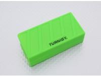 Turnigy suave de silicona protector de la batería de Lipo (3S 1000-1300mAh verde) 74x36x21mm