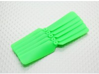 HobbyKing ™ Hélice 3x2 verde (CW) (5pcs)