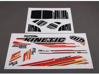 Súper Kinetic - etiquetas de reemplazo (2pcs / set)