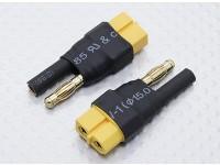 HXT 4 mm al adaptador de batería de plomo XT60 (2 piezas)