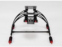 Cuidado multifunción de alta-cangrejo FPV Landing Gear Set (Negro)