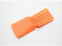 Hobbyking ™ Hélice 3x2 naranja (CW) (5pcs)