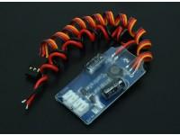 El Dr. sistema MadThrust Tres LED de color Afterburner (90mm) EDF